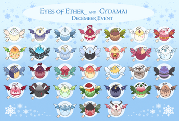 Eyes of Ether + Cydamai December Event [7/31OPEN] by Hecateadopt