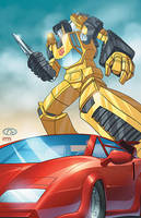 Autobot twins day by cgrapa