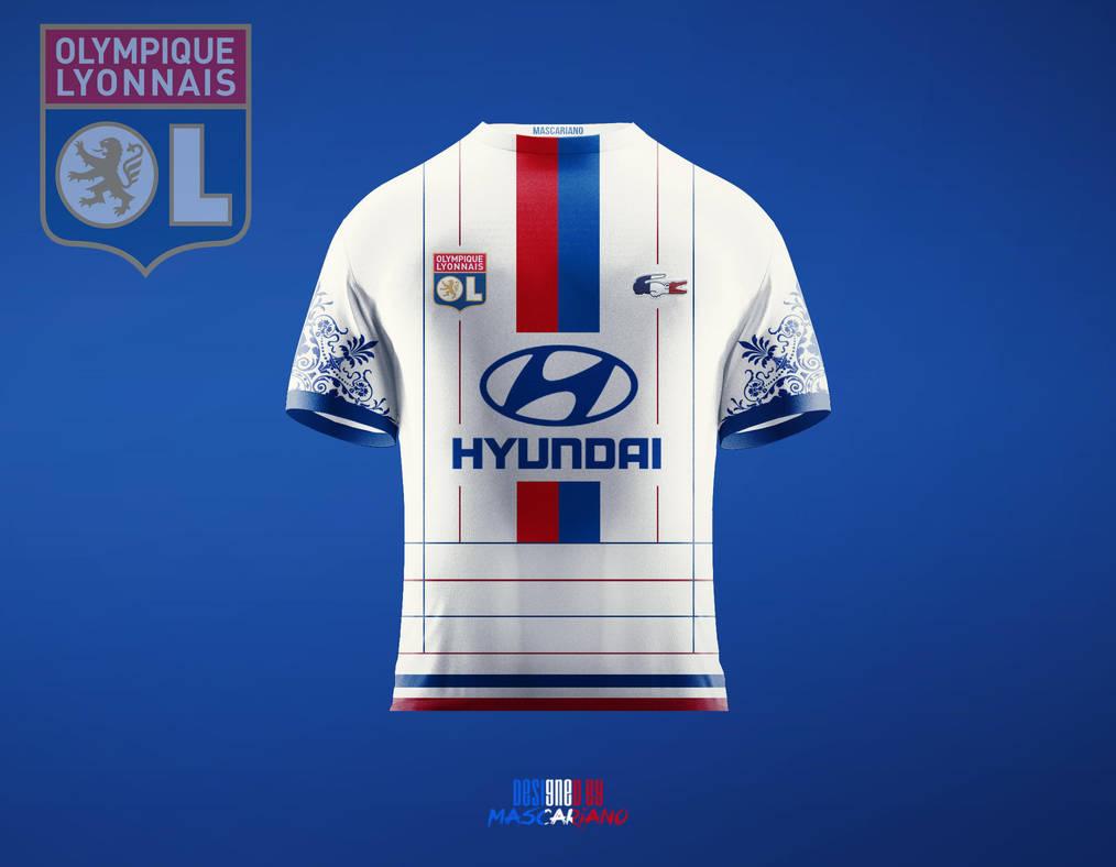 5ab3263ad Olympique lyonnais concept kit mascariano on deviantart jpg 1014x788 Olympique  lyonnais logo concept