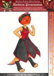 Pokecitia - Zoe's uniform by ArtsySnail