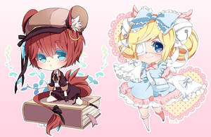 Chibi commission batch10 by inma