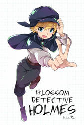 Blossom Detective Holmes by inma