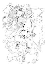 Hermione sketch by inma