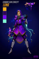 Sombra - Fanskin project | Luna by CamilleDuguay