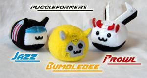 Puggleformers - P.B. + J by callykarishokka