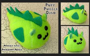 Puff Puggle Dino by callykarishokka