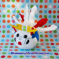 BurningGod Gundampuggle by callykarishokka