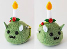 Puff Puggle ChristmasTree Fail by callykarishokka