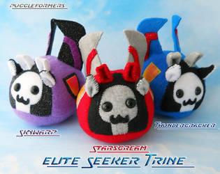 Puggleformers - G1 Elite Seeker Trine by callykarishokka