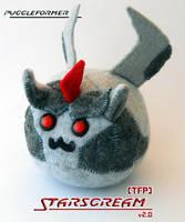 Puggleformer - TFP Starscream v2.0 by callykarishokka