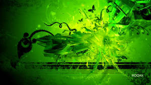 Abstract PSP Wallpaper by RiDDiKK