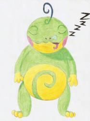 Sleepy Politoad by Pfaccioxx