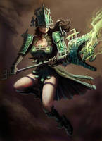 FEZ Sorceress by MarkBulahao