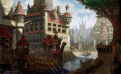 Canal city by MarkBulahao