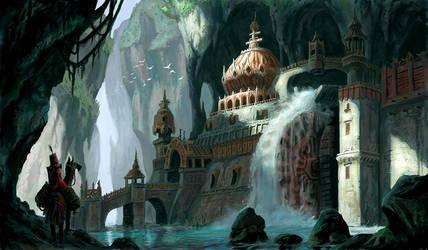 Watermill Monastery by MarkBulahao