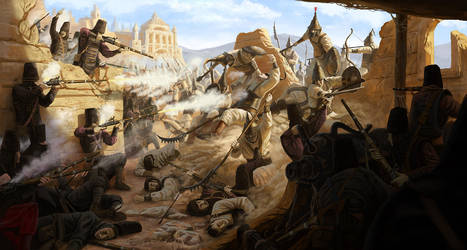 Meronite Offensive by MarkBulahao