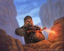 Chewbacca by MarkBulahao