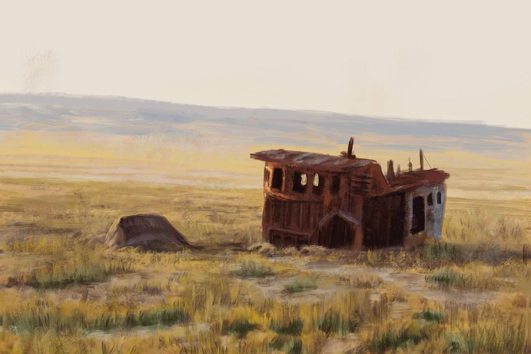 Aral Sea by MarkBulahao