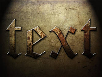 Metalish Text by Sheepykipz