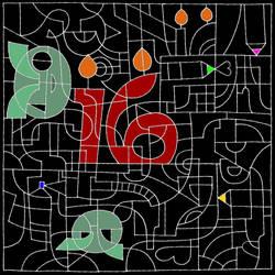 Happy sweet sixteen Deviant Art! by KakashiMorph