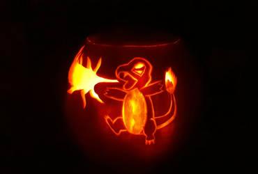 Pumpkin little pyro by KakashiMorph