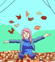 Throwing Leaves by BrandonPewPew
