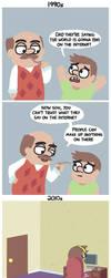 Don't trust the internet by BrandonPewPew