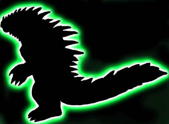 Kaiju Silhouette by JacobSpencerKaiju79