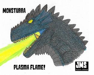 Monsturra-Plasma Flame! by JacobSpencerKaiju79