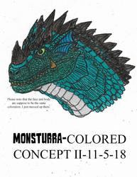 Monsturra-Colored Concept II-1-5-18 by JacobSpencerKaiju79