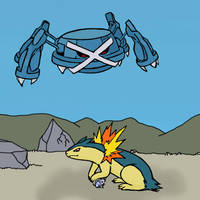 Metagross on the Prowl by sunnyfish