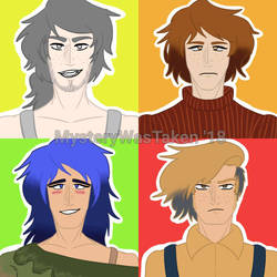 Human Version of the Terrestrial Planets by MysteryIsTaken