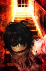 Creepypasta Jeff The Killer Killing It Literally by YamiKlaus
