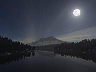 Mt Shasta by CrAzYmOnKeY