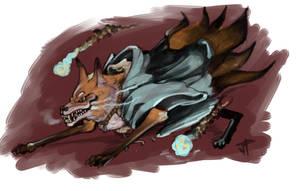 Kitsune by JugglingDino