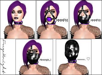 How to gag your Freya by FreyaKnight