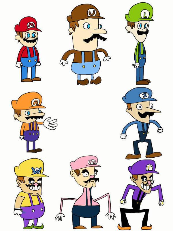 Mario Family - Super Mario Wiki, the Mario encyclopedia |Luigis Family Tree