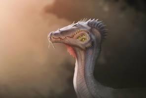 Strange dragon by MoaWallin