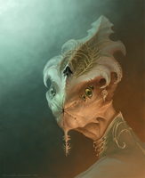 Alien guy by MoaWallin