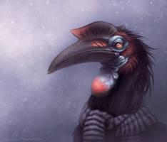 Hornbill by MoaWallin
