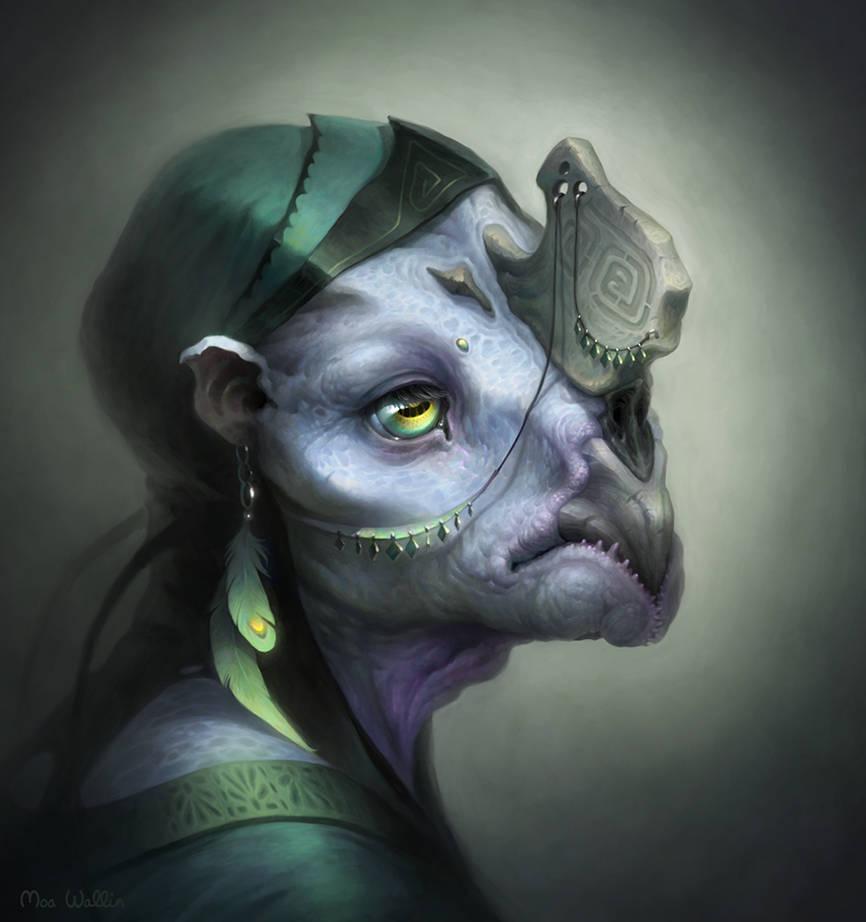Creature by MoaWallin