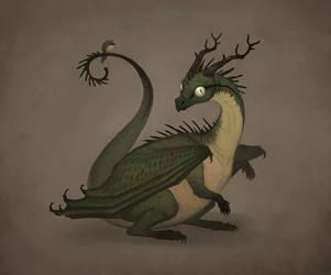 Green Dragon by MoaWallin