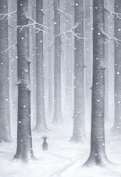 Snow by MoaWallin