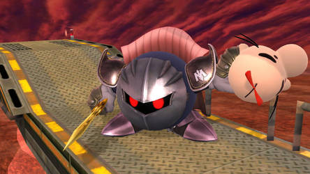 Meta Knight SSB Screenshot by crazycool124
