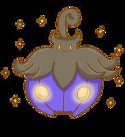 Shiny Pumpkaboo by poke-helioptile294