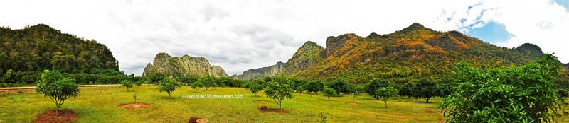 Hup Pa Tat Panorama by tawunap159