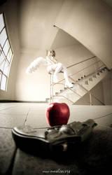 The sinned angel, Rin by kclee2002