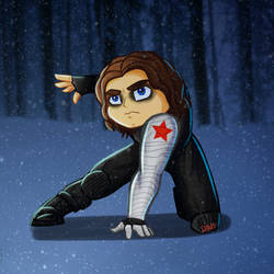 The Winter Soldier by Cathasach