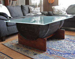 The barrel coffee table by VisualScream