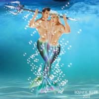 Merman Twins by AquaticNeon